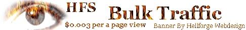 Bulk Traffic $0.003 per a page view!